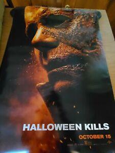 HALLOWEEN KILLS DS 100 % AuthenticTheatrical Movie Poster 27x40 D/S MINT
