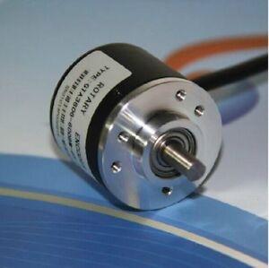Incremental 600P/R 6mm Rotary Encoder Shaft AB Two Phase Length Measure 5-24V