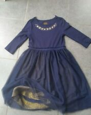 Stunning Joules party dress 4 layers skirt age 8 excellent condition worn once