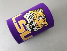 LSU TIGERS KOOZIE BEER CAN COOLER