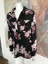 Bali Studio Collection Floral Pajama Top Sleepwear Womens (X) SZ Large