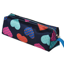 Heart Square Travel Organizer Cosmetic Make Up Holder Case Bag Pouch Free P&P UK