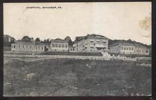 Postcard WINDBER Pennsylvania/PA  Town Local Area City Hospital view 1907