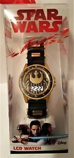 New Star Wars LCD Watch Disney - Gold / Black