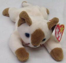 Ty Beanie Babies Collection Snip The Siamese Cat Retired Preowned 1996