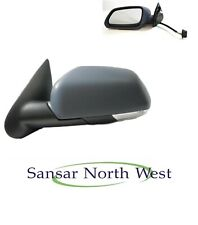 Left side Wide Angle wing mirror glass for Skoda Octavia 96-04 Heated Blue
