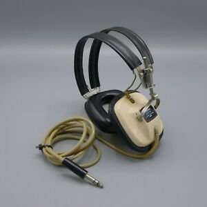 Vintage Sansui SS-2 Stereo Headphones Tested and Working