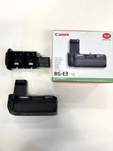 Canon BG-E3 Vertical Grip/ Battery Holder with BOX