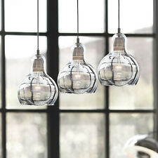 Modern Glass Pendant Light Ceiling Light Fixtures Single Bulb Shape For Kitchen