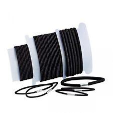 Black Hair Elastics - Mixed Sizes - Dance Hair Accessories