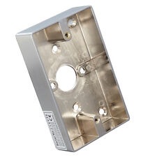 Material Metal Zinc Alloy Surface Wall Mounted Back Wiring Box 114Lx70Wx25H(mm)
