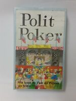 Political Poker - the Card Game - Öko Vertrieb - From Franz Scholles - Rarity