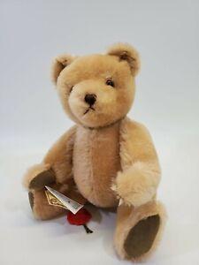 "LM VINTAGE Artist Bear Hermann Original 12"" Mohair Jointed Plush LE Teddy Bear"