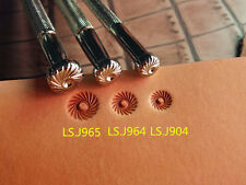 Johnleather Craft Alloy Metal Flower Centers Stamps Tool Set Ls.J965.J964.J904