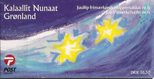 Greenland 2001 Christmas, Bird, Dove design Booklet complete SG SB16 UNM / MNH