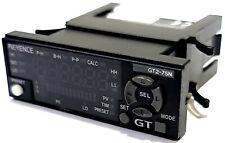 Keyence GT2-75N Digital Contact Sensor Amplifier Main Unit for GT2-H Series