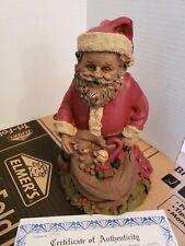 "Tom Clark "" Santa Iii "" Gnome W/Coa"