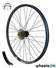 650B 27.5inch wheelsON Rear Wheel MTB Disc +6 Spd Shimano Freewheel 32H Black QR