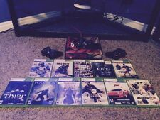 Xbox 360 Kinect Slim 250 GB w/11 Games 3 Wireless Controllers And Turtle Beaches