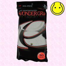 New Solinco Wonder Grip Tennis Overgrip 30 Pack - White