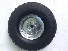 "10"" Tire & Rim Assembly_4.10/3.50-4_Load Range B(300lbs.)Hand Truck_Wheel Barrow"
