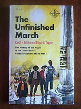 THE UNFINISHED MARCH History Of The Negro 1967 HTF L@@K