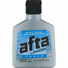 Afta by Mennen Fresh After Shave Skin Conditioner Light Scent 3 Ounce, 5 Pack