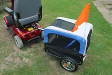 Mobility Scooter Pet Trailer Towing Attachment Shopping Pet Transport Solution