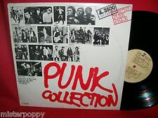 PUNK COLLECTION LP ITALY 1966 EX+ Police Ramones Patti Smith Electric chairs