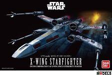 Star Wars X-WING STARFIGHTER 1/72 Bandai/Revell 01200 Plastic Model Kit New