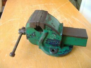 """USED RECORD No.0 ENGINEERS BENCH VICE 2.1/2"""" JAWS"""