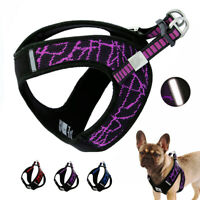 Strong Dog Harness Step-in Vest Reflective for French Bulldog Small Medium Dogs