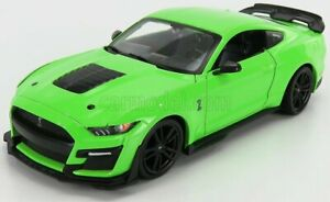 1/24 MAISTO - FORD USA - MUSTANG SHELBY GT500 2020 31532GR