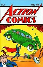 Action Comics #1 - 1st Appearence of Superman - Certified Authentic Reprint