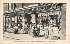 Holborn. Cranston & Elliott Shop, Southampton Row. Carpets, Bedsteads, Curtains.