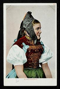 SWITZERLAND 333-SUIZA -Schwarzwälderin (Undivided Back (c. 1901-1907)