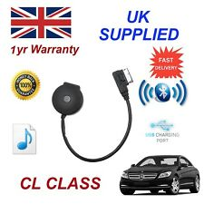 para Mercedes CL Class STREAMING BLUETOOTH CARGA USB & Stick Cable mb-mmi-bt001