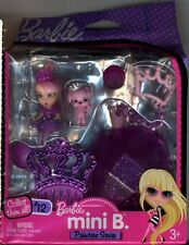 Barbie Mini B. Barbie Doll (Princess Series Number 12) (NEW)