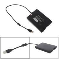 "USB External Portable 1.44Mb 3.5"" Floppy Disk Drive Diskette FDD For PC ED New"