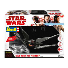 REVELL 06760 Star Wars Build & Play kylo Ren's Tie Fighter (SCALA 1:70) NUOVO