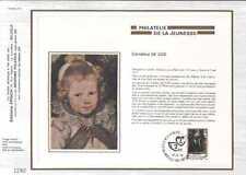 Feuillet CEF Belgique n°111 Philatélie de la jeunesse cachet 14-9-74 Bruxelles