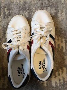 Size 10 Gola White Sneakers
