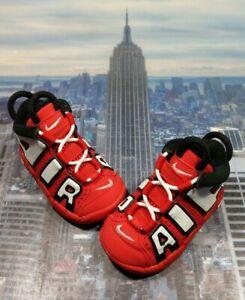 Nike Air More Uptempo QS University Red/White-Black TD Toddler Sz 4c CD9404 600
