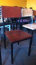 Metal Rustic Wood Chair | Millennium Seating