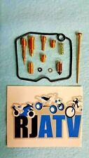 Arctic Cat 400 4x4 Auto Carburetor 2004 Carb Rebuild Kit Repair