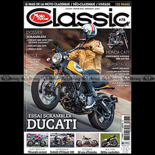 MOTO REVUE CLASSIC N°78 DUCATI SCRAMBLER 450 800 HONDA 305 CA 77 ZUNDAPP KS DS