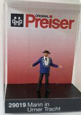 """Preiser 29019 Spur H0 Einzelfigur, """"Mann in Urner Tracht"""" #NEU in OVP#"""