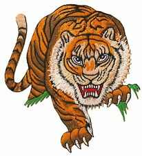 Écusson patche Tigre patch décoratif vêtements brodé thermo adhésif badge