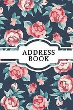 Address Book : Vintage Rose Small Address Book and Birthdays for Contact (6x9...