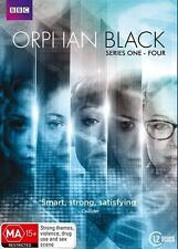 Orphan Black the Complete Season Series 1, 2, 3 & 4 DVD Box Set 12-Disc Set R4